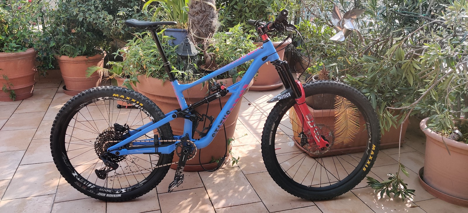 Specialized Status 160 Alloy Mullet