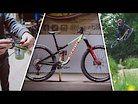 Marin Alpine Trail Bike Build with crash reel!