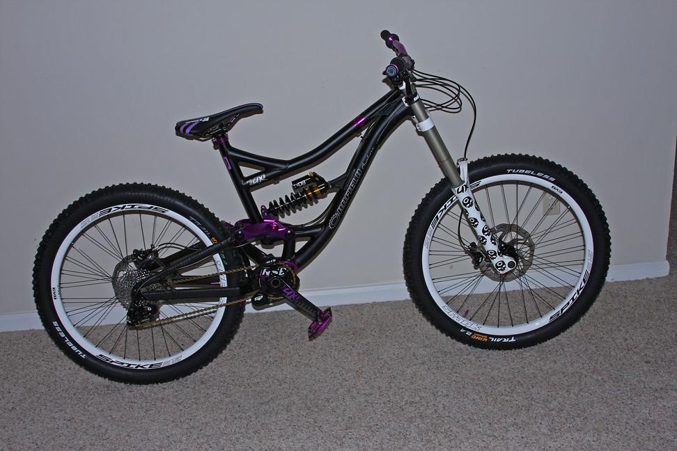 Black/Purple Canfield One