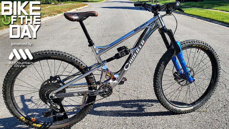 Canfield Bikes Balance LE- Iron Maiden Tribute