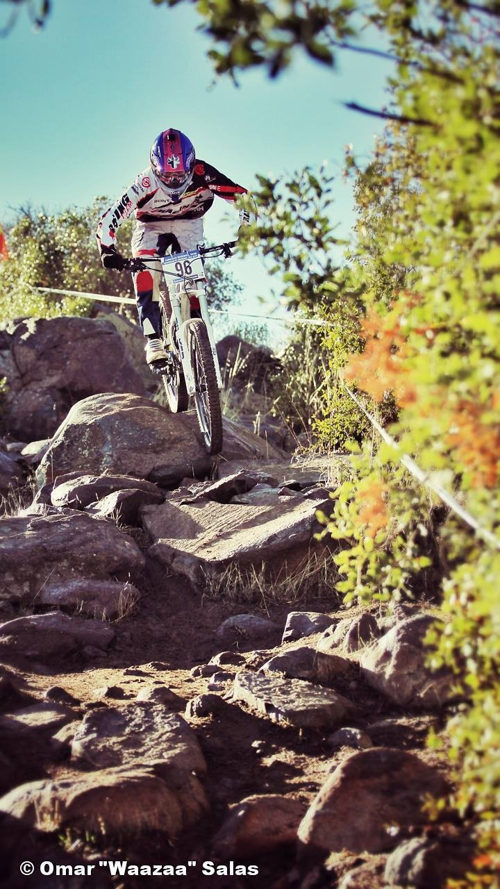 2013 Chilean National DH Championship Photo Gallery: Claudio Fuentes - Waazaa - Mountain Biking Pictures - Vital MTB