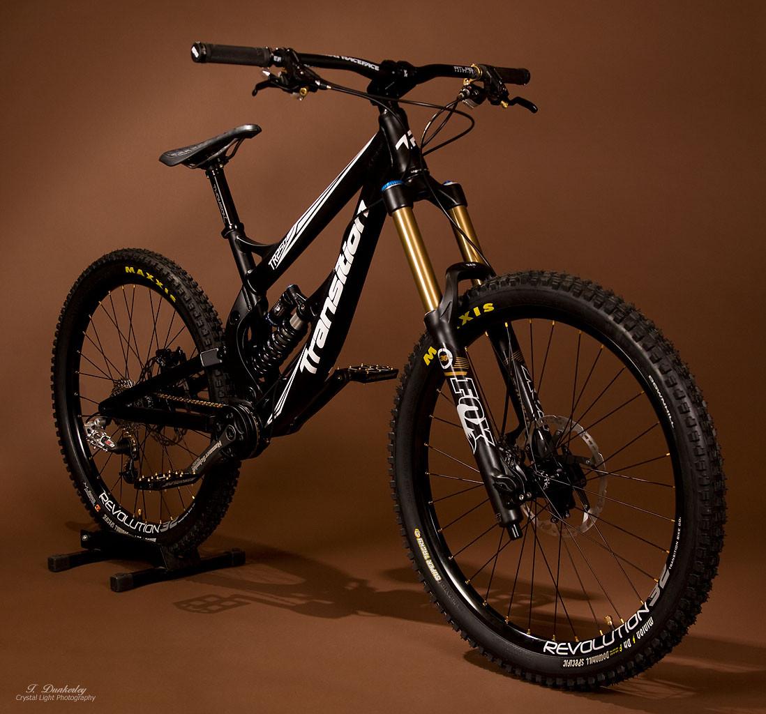 Transition Tr 250 Black Gold Edition Kerplunk S Bike