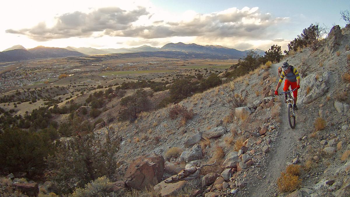 Salida Sunset ride - shutter2ride - Mountain Biking Pictures - Vital MTB