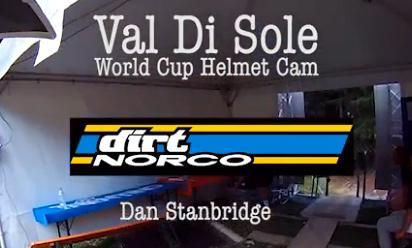 DirtTV: Val Di Sole WC Helmet Cam 2011