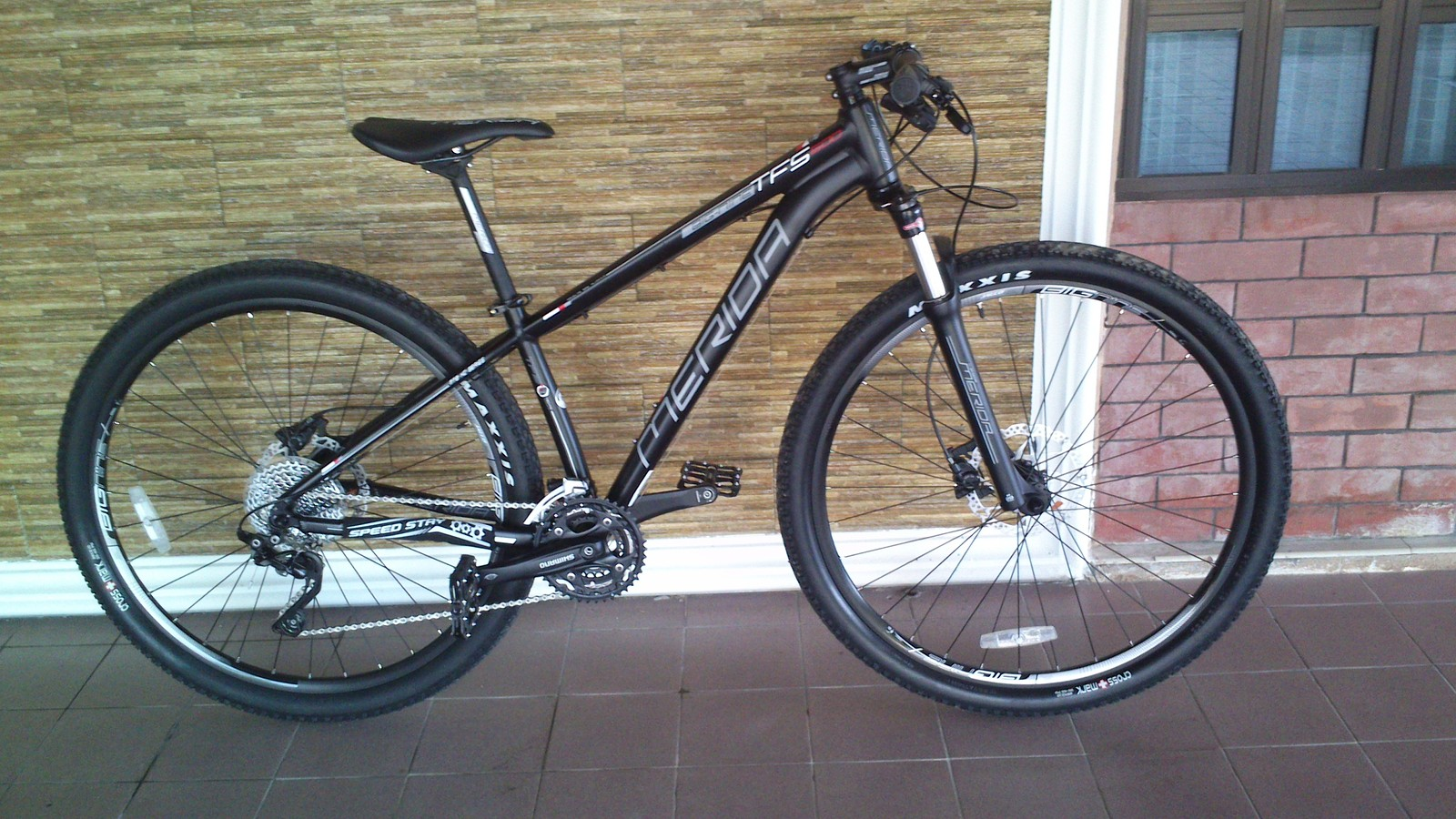 """My """"Merida BIG.NINE TFS 500 29er"""".  A pretty good first 29er. Probably will upgrade the fork and crankset."""