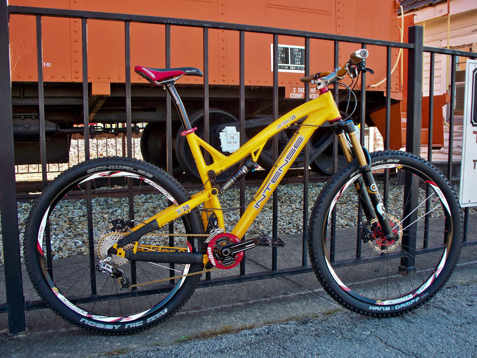 2013 Intense Spider 29 Can-Am Yellow