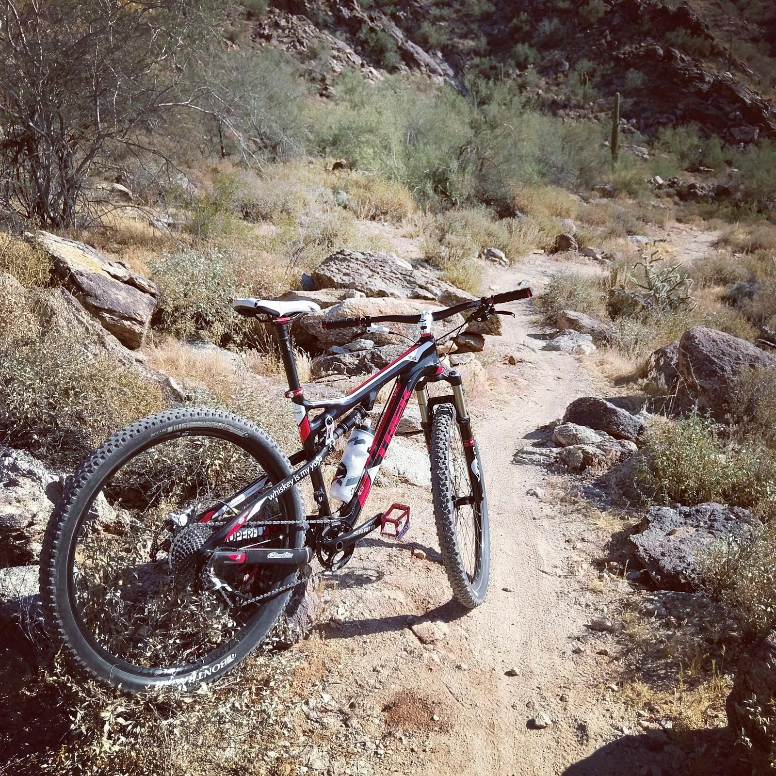 Out at White Tank Mountains in AZ.