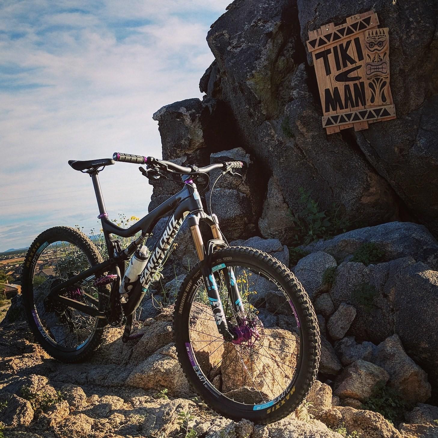 Tiki Man Trail in AZ