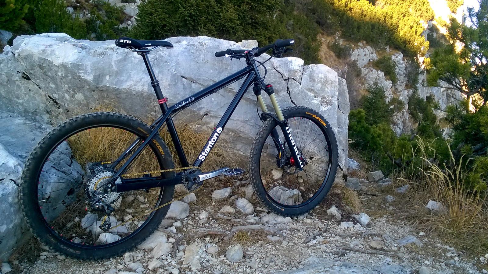 Stanton Slackline 631 - caste\'s Bike Check - Vital MTB