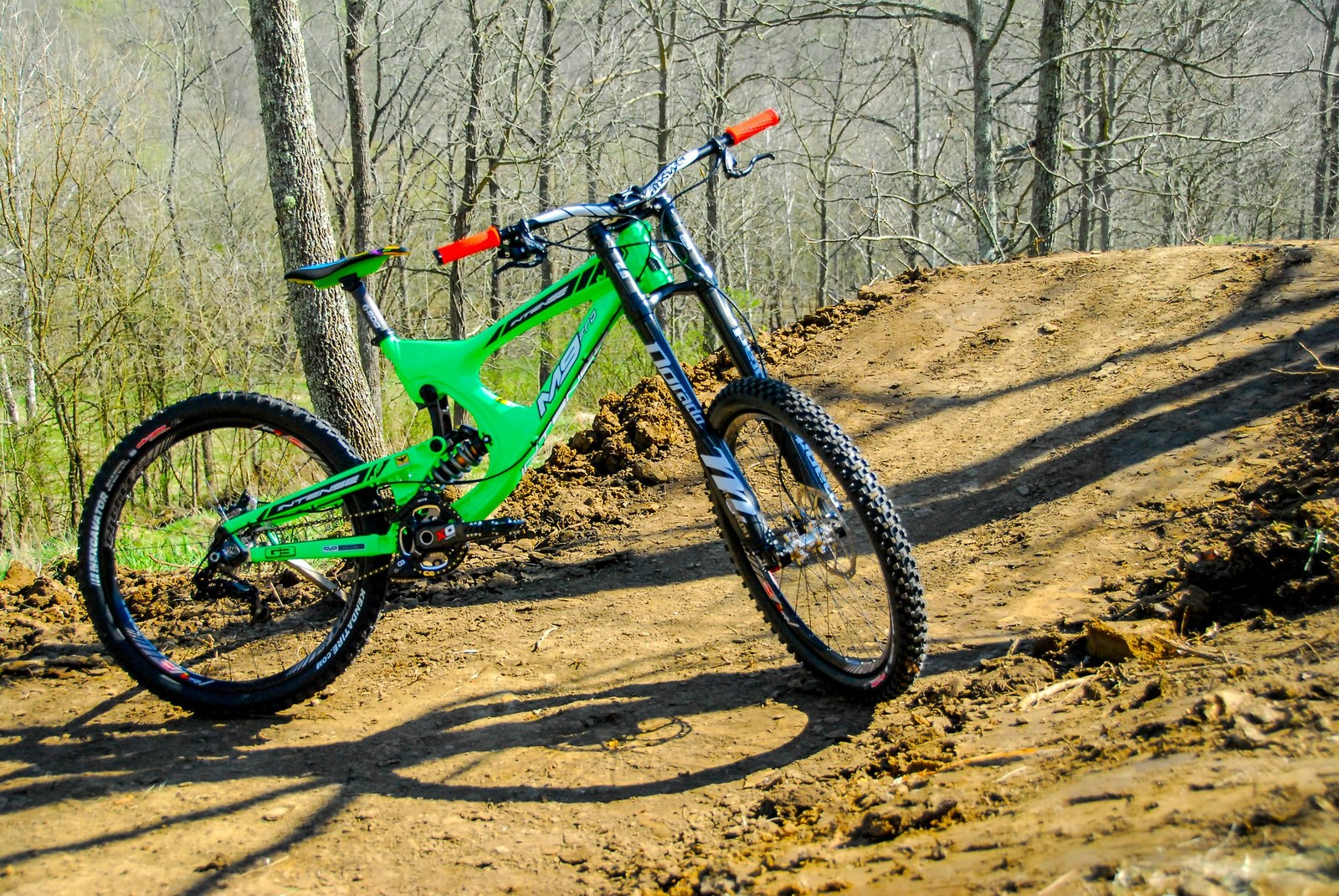 Dave's 2013 Flo Green Intense M9