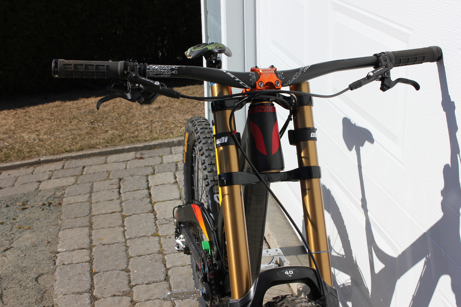 Devinci Wilson Carbon 2013 - Marcantoineshred - Mountain Biking Pictures - Vital MTB