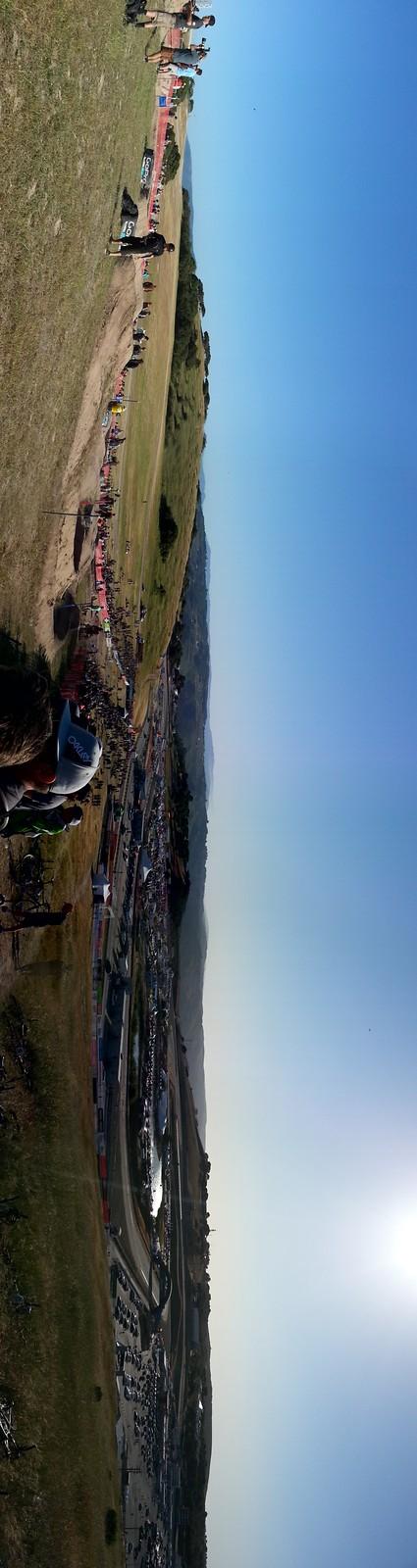 Dual Slalom Sea Otter Panorama! - djames - Mountain Biking Pictures - Vital MTB