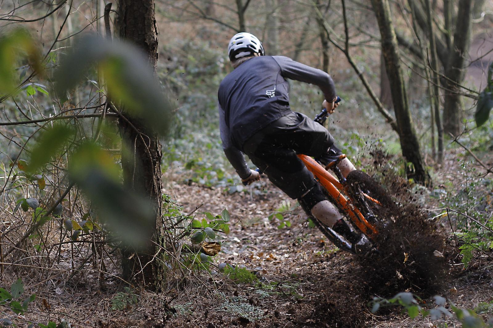 Corner Commitment - CaldwellVisuals - Mountain Biking Pictures - Vital MTB