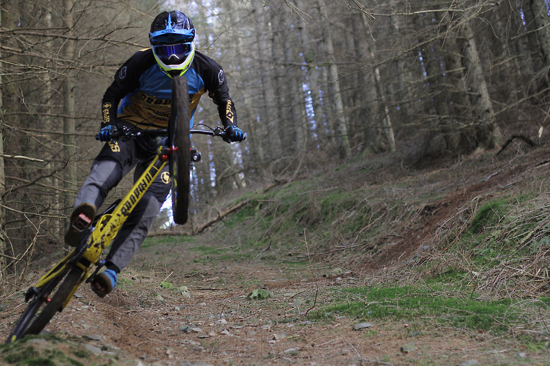 Phil Atwill's post berm tyre slide - CaldwellVisuals - Mountain Biking Pictures - Vital MTB