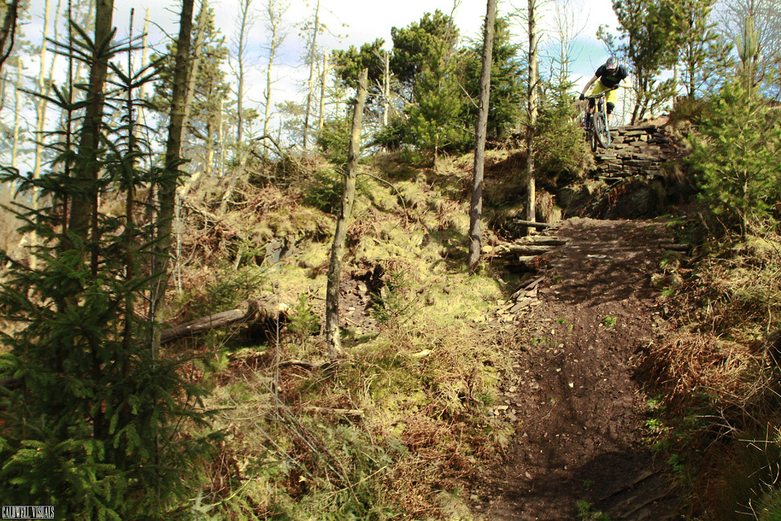 Harry Heath giving Macc a session - CaldwellVisuals - Mountain Biking Pictures - Vital MTB