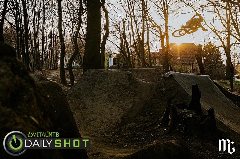 Przemek Abramowicz at Agrest Dirt, PL - Kick!Photo - Mountain Biking Pictures - Vital MTB