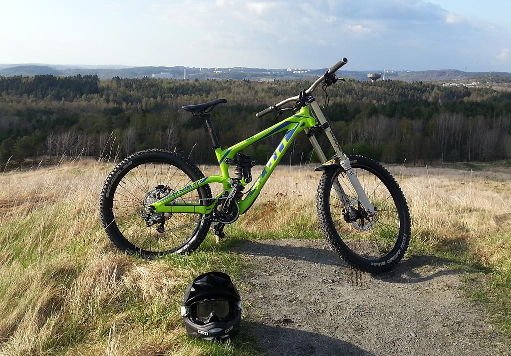 ea650f970ac Scott Gambler 10 - Gallain's Bike Check - Vital MTB