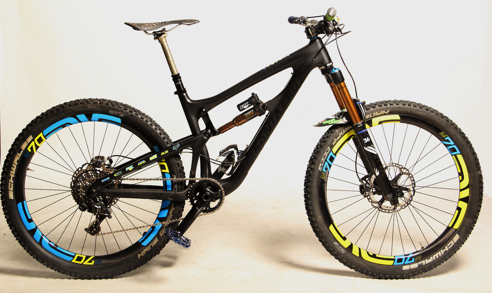 2015 Santa Cruz Nomad - Eden Bicycles Edition