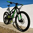 Santa Cruz Nomad 3 - The Green Flash edition
