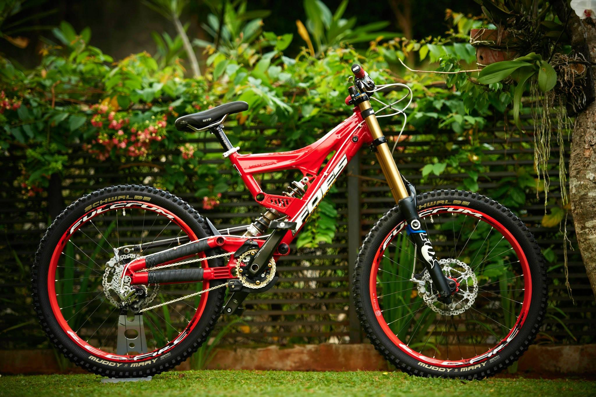 Foes Dhs Mono 2 1 Karim B Saleh S Bike Check Vital Mtb