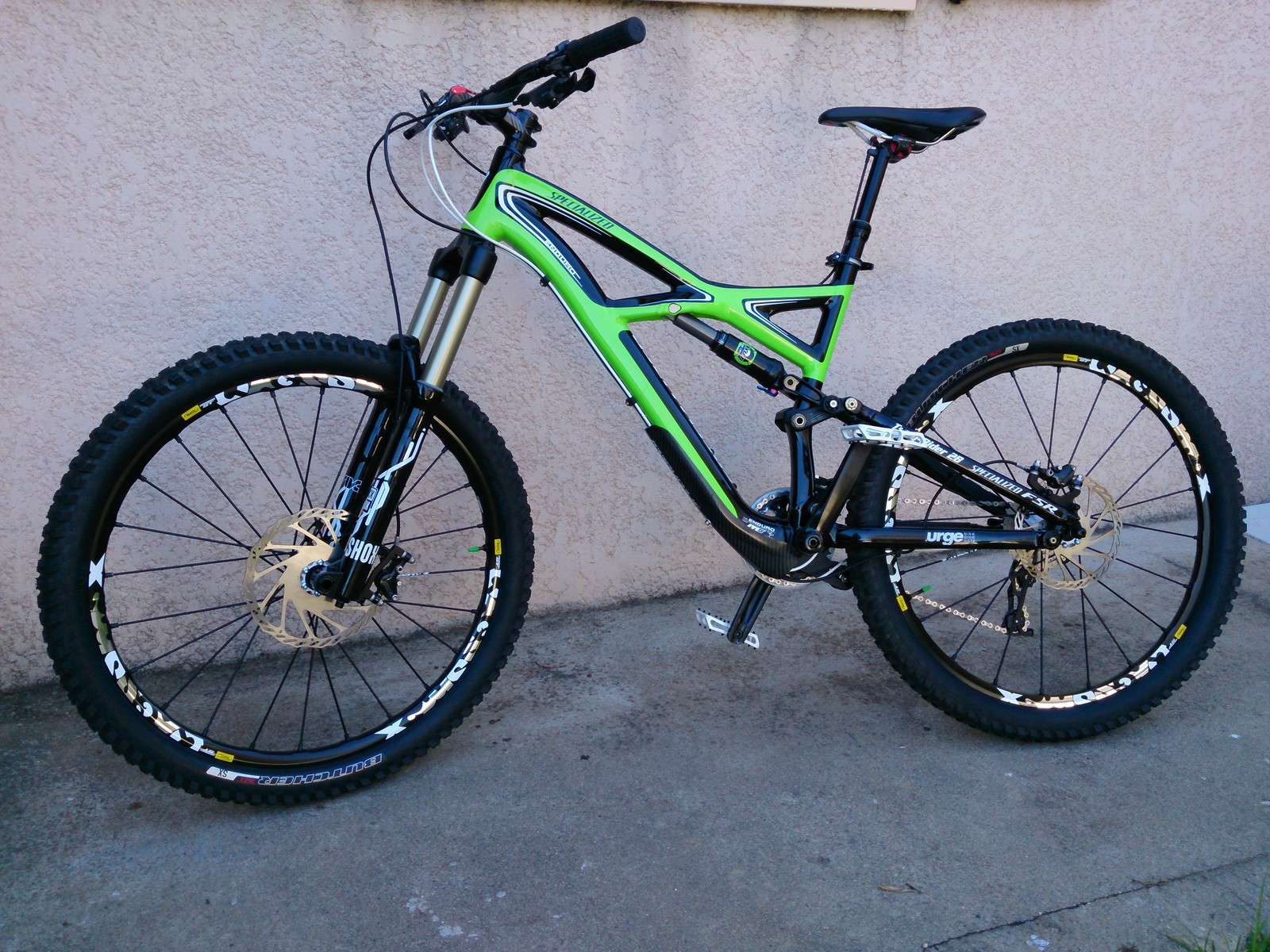 SPECIALIZED ENDURO COMP Monster Green by Dan