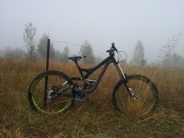 A foggy morning at stromlo