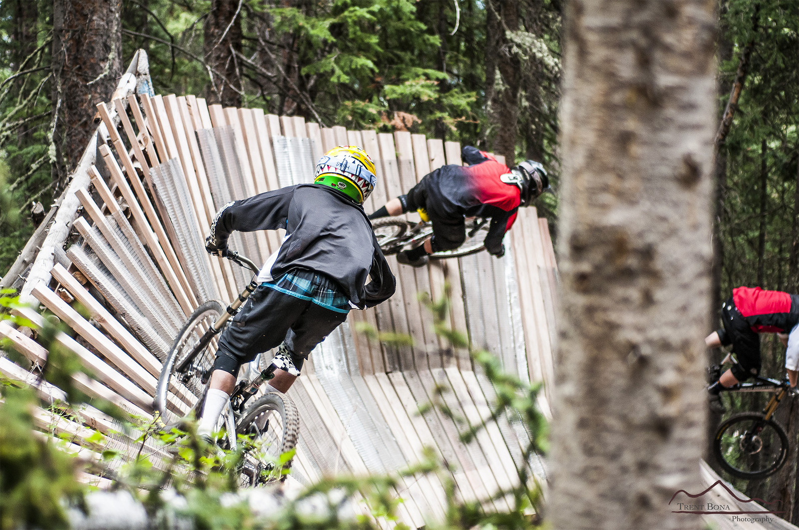 Woods Wall Ride - Evolution Bike Park - Mountain Biking Pictures - Vital MTB