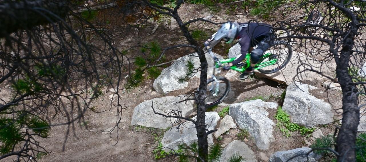 Upper Avery Rock Garden - Evolution Bike Park - Mountain Biking Pictures - Vital MTB