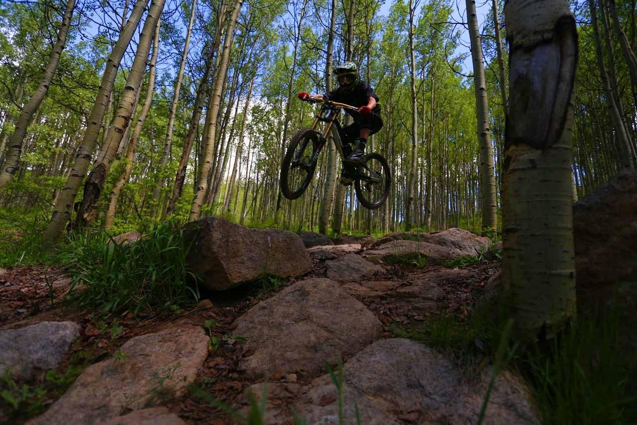 Rock Garden Gap - Evolution Bike Park - Mountain Biking Pictures - Vital MTB