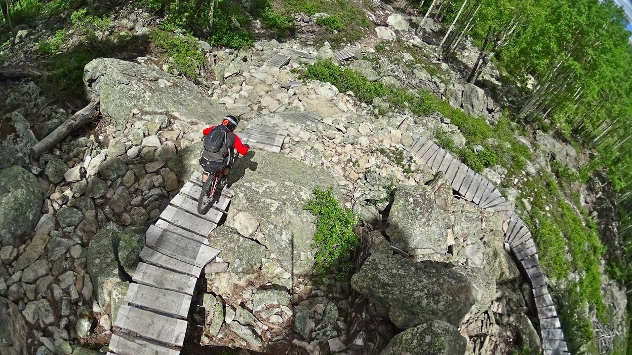 The Pinnacle - Evolution Bike Park - Mountain Biking Pictures - Vital MTB