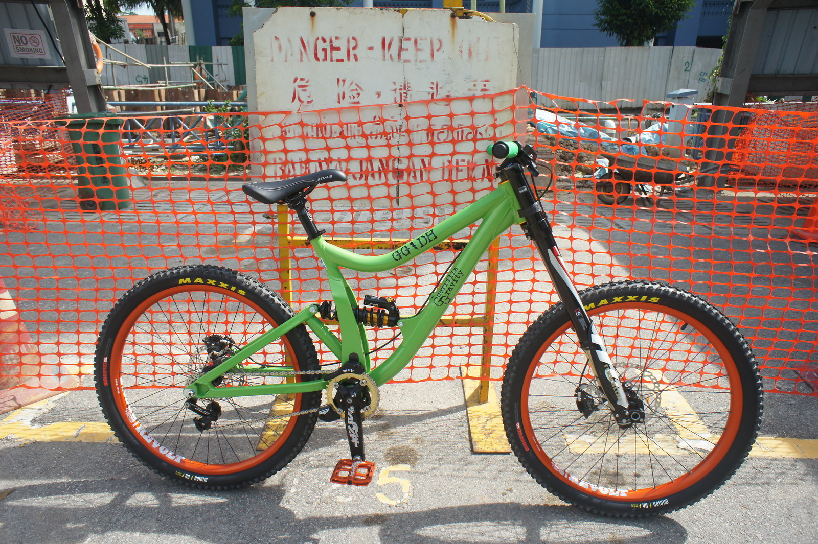 Guerrilla Gravity DH SS #64 MeanGreenMachine