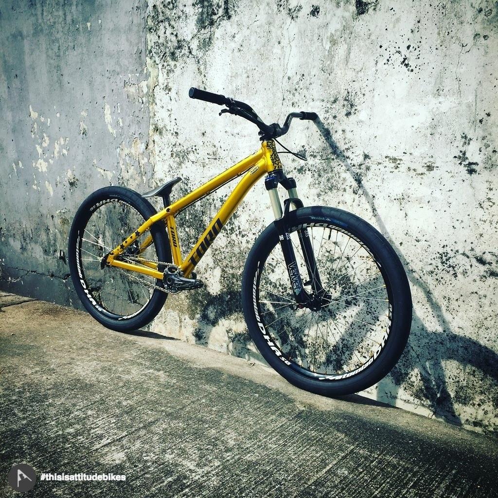 Corsair Toro Custom by Kahfi Sports/Attitude Bikes