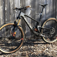 Tallboy ultimate trail setup.