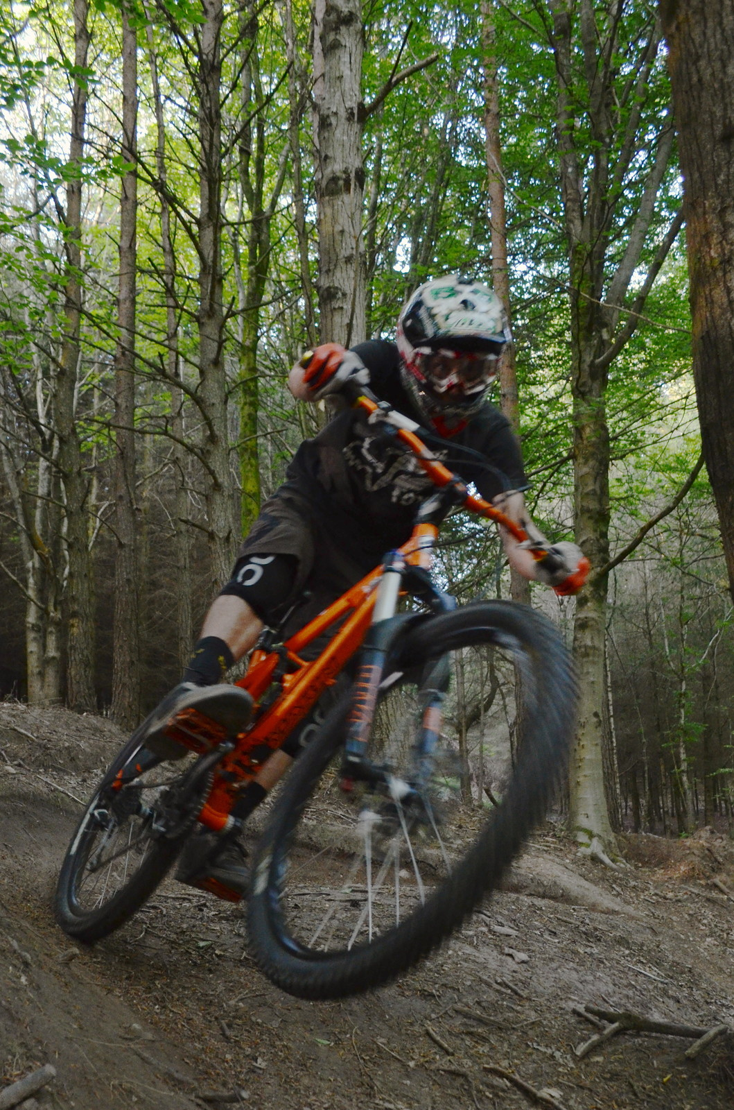 Chris Rippin Berm - adam.pagett - Mountain Biking Pictures - Vital MTB