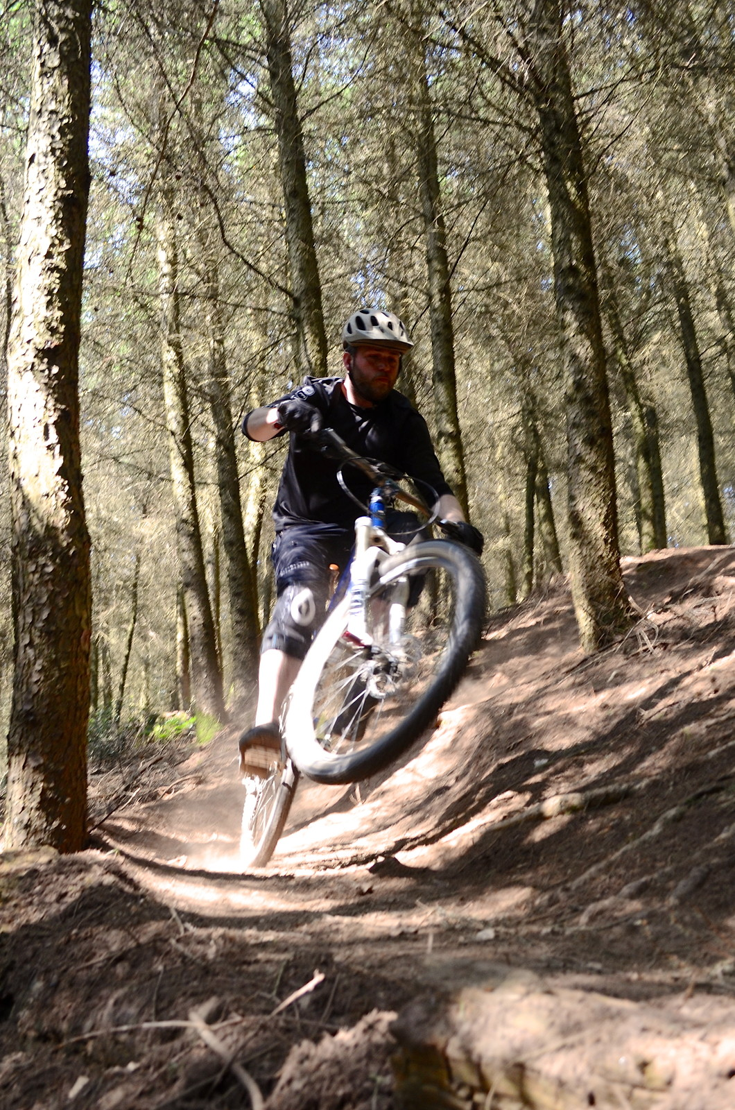 Russ Poppin Corner - adam.pagett - Mountain Biking Pictures - Vital MTB