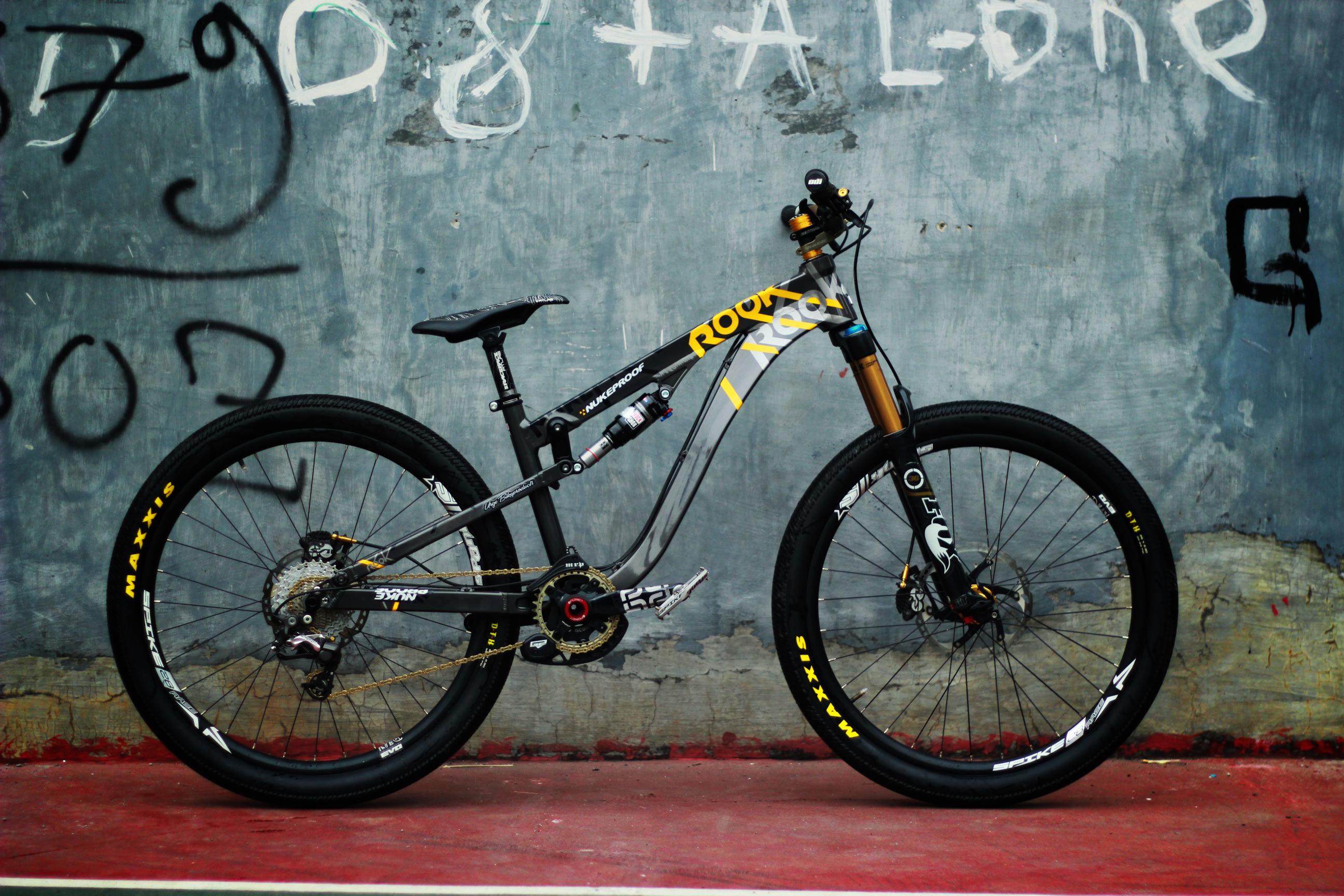 Slopestyle & Trail nukeproof ROOK! - aditya.bimantara's Bike Check - Vital MTB