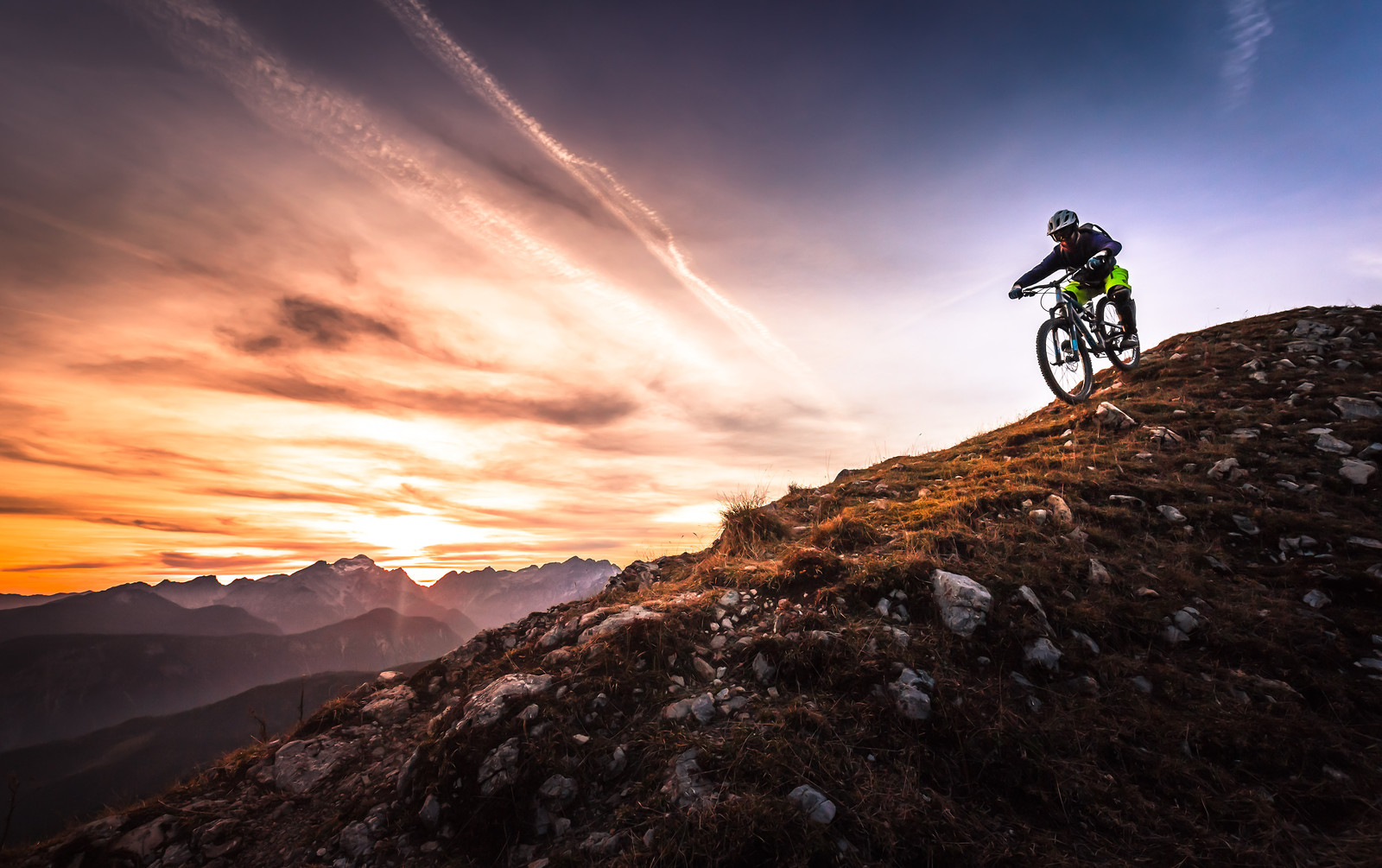 Sunset ride - berto - Mountain Biking Pictures - Vital MTB