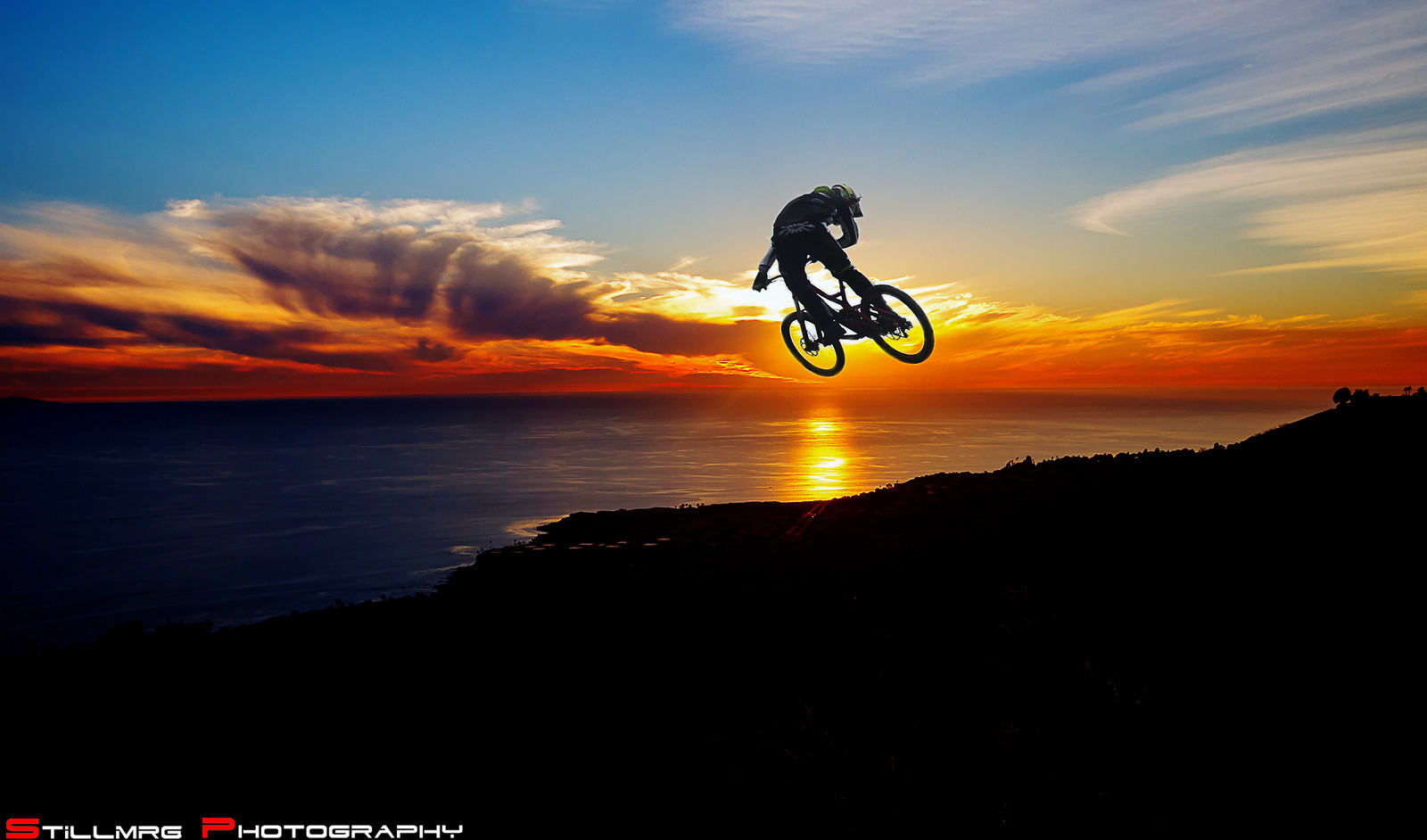 How I love Cal Sunset - Stillmrg Photography - Mountain Biking Pictures - Vital MTB