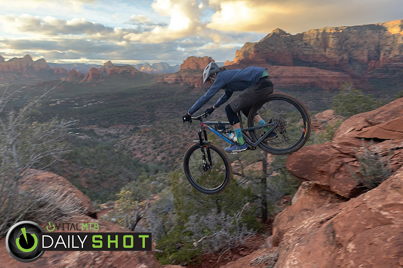 A Drop and a View - FlowyMcFlowerton - Mountain Biking Pictures - Vital MTB