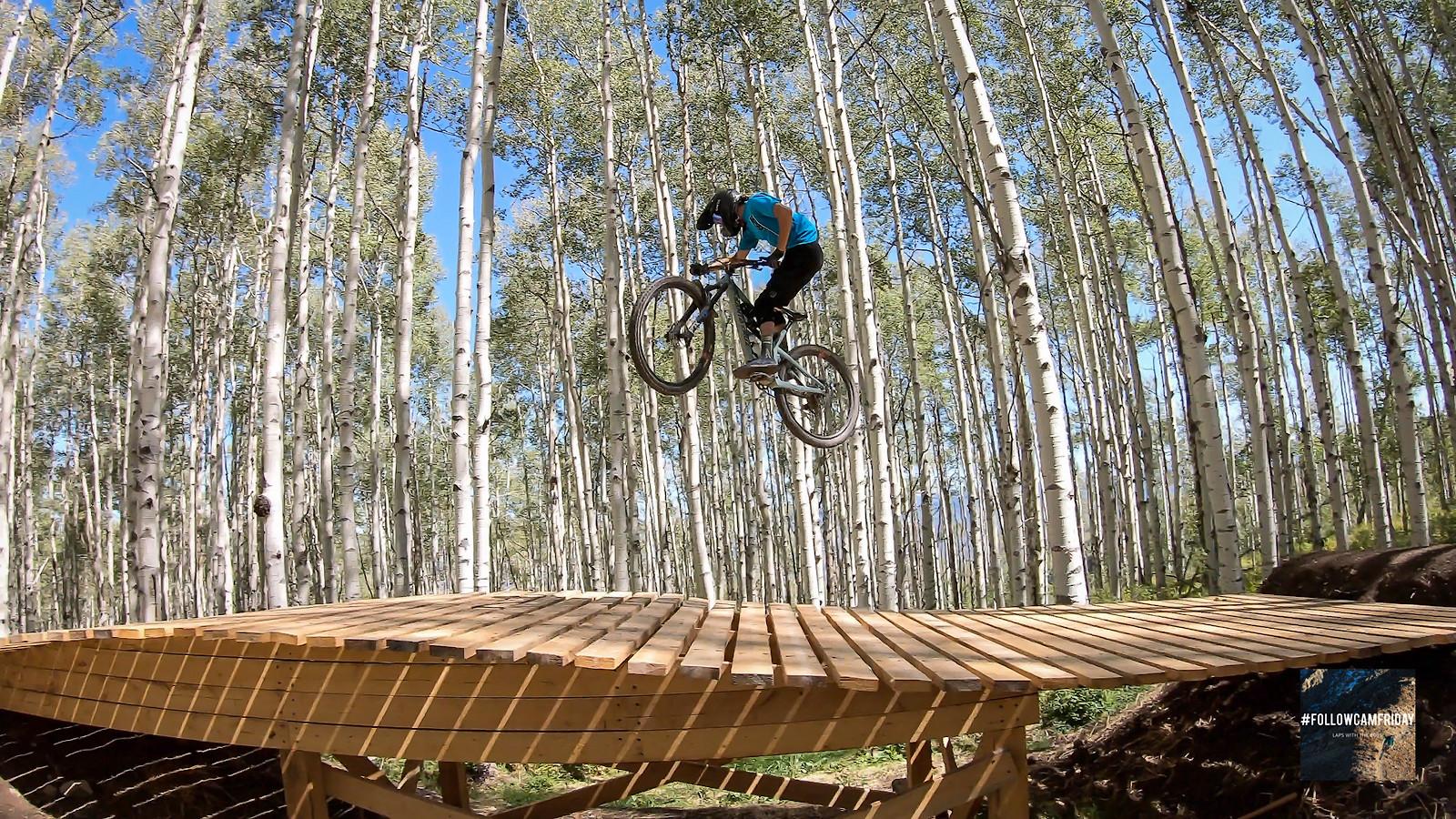 Flying through the Aspens - FlowyMcFlowerton - Mountain Biking Pictures - Vital MTB