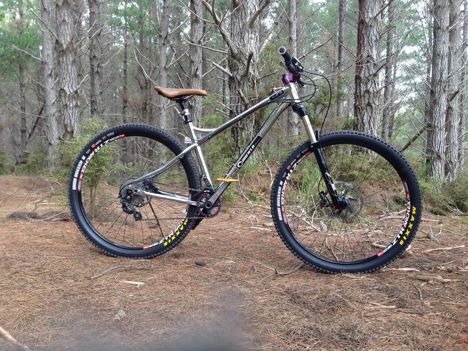 Canfield Brothers Nimble 9 - astnz\'s Bike Check - Vital MTB