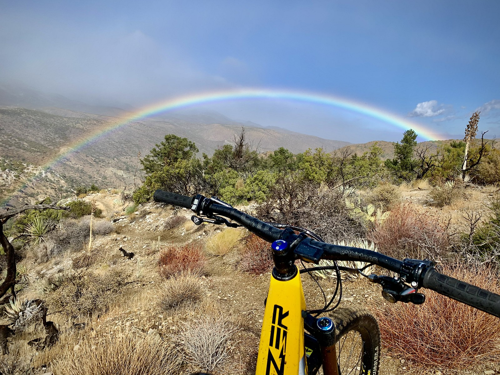 Chasing The Rainbow at Palm Canyon Epic Trail - ozzer - Mountain Biking Pictures - Vital MTB