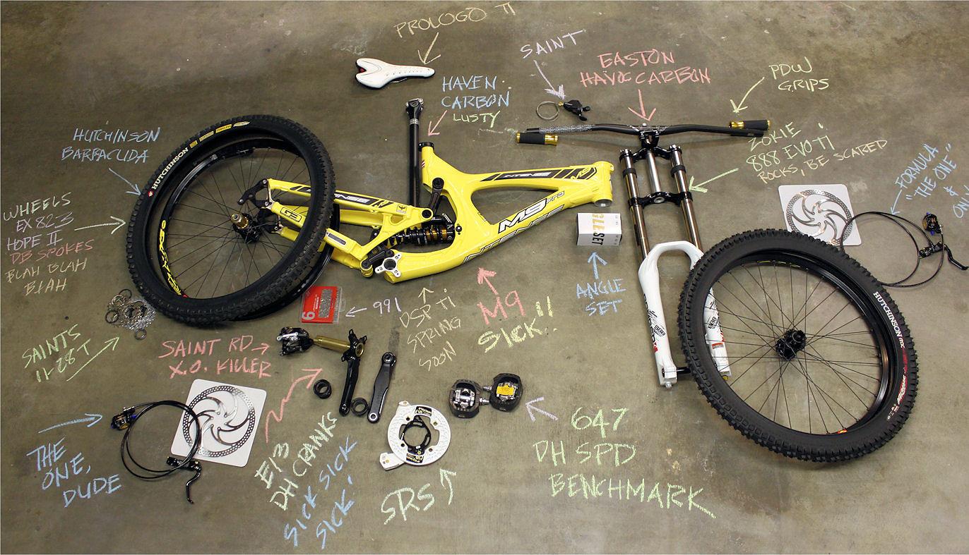 M9 Bike Check.  - ozzer - Mountain Biking Pictures - Vital MTB