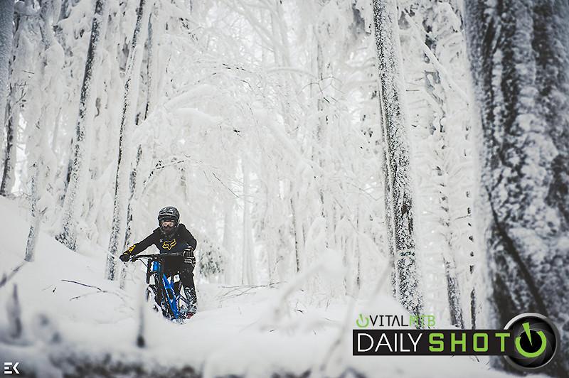 Winter Riding - Ewa.Kania - Mountain Biking Pictures - Vital MTB