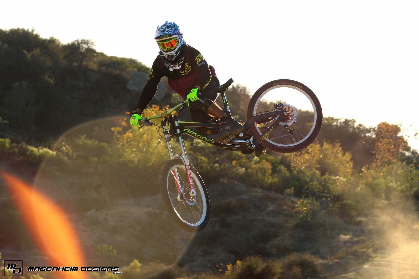 Paul Marcynyszyn whipping in the golden light - krismag117 - Mountain Biking Pictures - Vital MTB