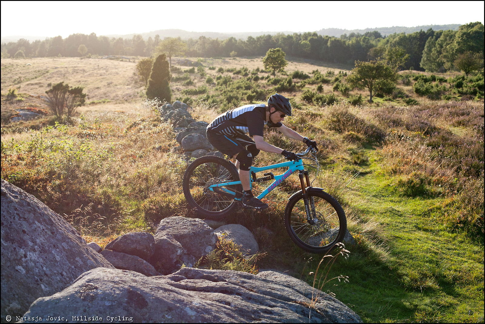 Sunset in Sweden. - Hillside Cycling - Mountain Biking Pictures - Vital MTB
