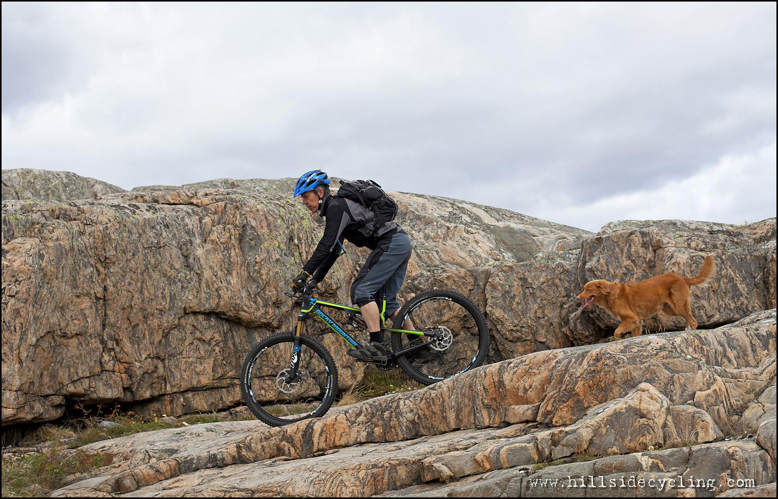 Rocky on the rocks! - Hillside Cycling - Mountain Biking Pictures - Vital MTB