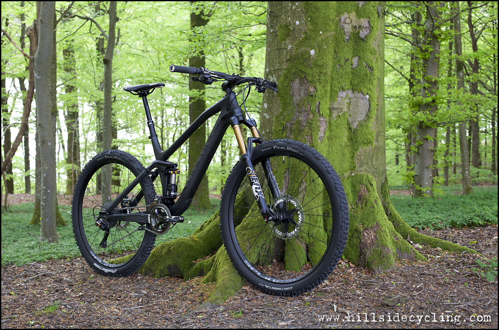 2015 Canyon Spectral CF 9.0 SL stealth