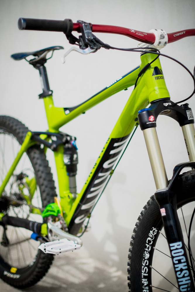 Canyon Nerve AM Enduro Lime