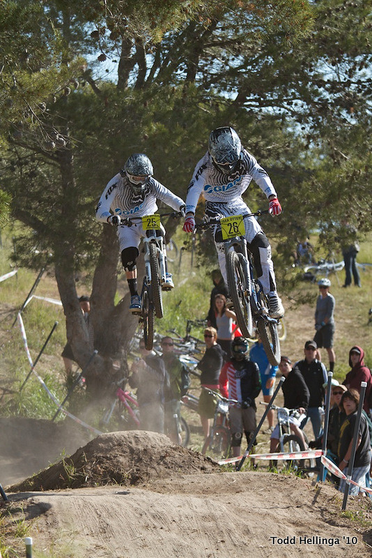 Danny Hart And Duncan Riffle - t.odd - Mountain Biking Pictures - Vital MTB